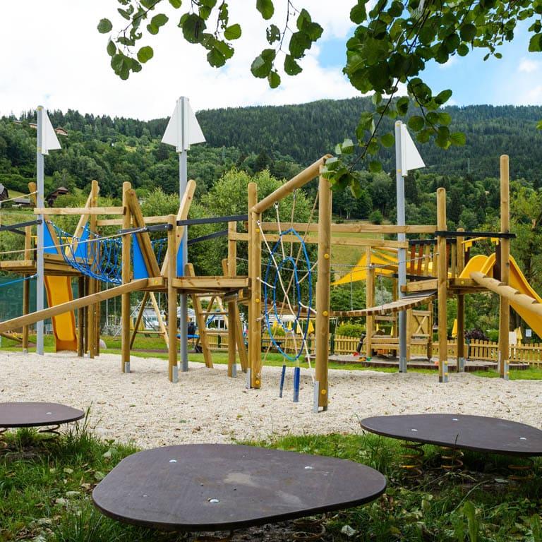 Ein Outdoor-Motorikpark am Brennseehof